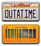 Back to the Future | OUTATIME + 2015 | Metal License Plates...