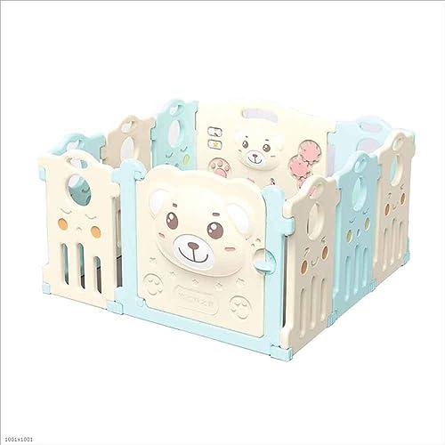 punto de venta de la marca AYMMY Bebé Juego Valla plástico Gatear Valla Interior Interior Interior Exterior Infantil área de Juego,10+2Panel  moda clasica
