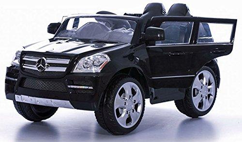 RC Auto kaufen Kinderauto Bild 3: crooza Mercedes-Benz SUV GL450 GL 450 Jeep 12V Kinderauto Kinderfahrzeug Kinder Elektroauto (Schwarz)*