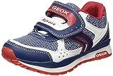 Geox Bambini E Ragazzi, Sneakers, J Pavel B, Multicolore (Multicolor (Blue/White)), 31