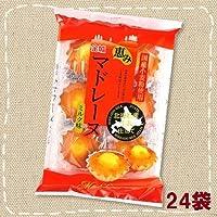 恵み マドレーヌ ミルク味 個装 6個入×24袋【金城製菓】