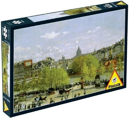 ahorra hasta un 30-50% de descuento Quai du Louvre 1000 Piece Claude Claude Claude Monet Jigsaw Puzzle By Piatnik by Piatnik  varios tamaños