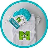Mouthie Mitten - Mitón manopla de para dentición silicona - diferentes colores - Azul, Recién nacido...