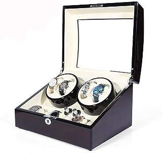 WYFX - WYFX Caja de Reloj mecánico, Mesa giratoria mecánica, Reloj doméstico, agitador, Reloj mecánico, Reloj oscilante único, Moda