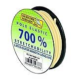 6m VAN DEN EYNDE ROBINSON Latex Pol Elastic 700% Dehnung Gummizug Matchgummi (Ø 0,90mm)