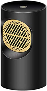 Cajolg Zvvvst Calefactor Portatil, Fast Heater Handy Calentador,Cronotermostato Calefaccion Eléctrico,Negro