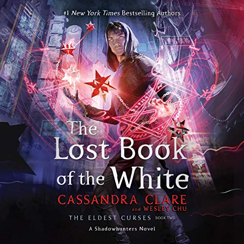 The Lost Book of the White audiobook cover art