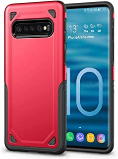 Phone Case,Shockproof Rugged Armor Protective Case for Samsung Galaxy S10+,E