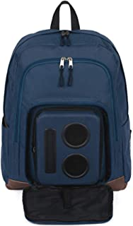 Bluetooth Speaker Backpack with 20-Watt Speakers & Subwoofer for Parties/Festivals/Beach/School. Rechargeable, Works with iPhone & Android (Blue, 2020 Premium Edition)