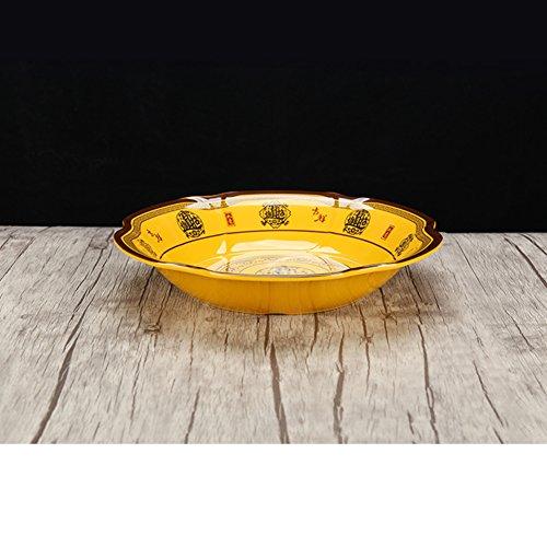 assiette ,plaque d'accentuation,assiette d'apéritif, assiette à dessert , assiette de salade ,plaque de mélamine/ plaque de porcelaine imitation -C