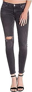 HUDSON Krista Ankle Super Skinny-Stretch Jeans Horizon Grey