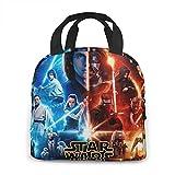 Star Wars - Bolsa de almuerzo térmica térmica para hombres, mujeres, adolescente bolsa de almacenamiento para embalar el almuerzo