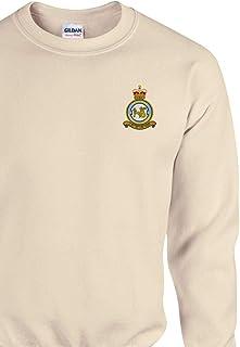 Embroidered 1 Sqn RAF Regiment Unisex Cotton Classic Sweatshirt