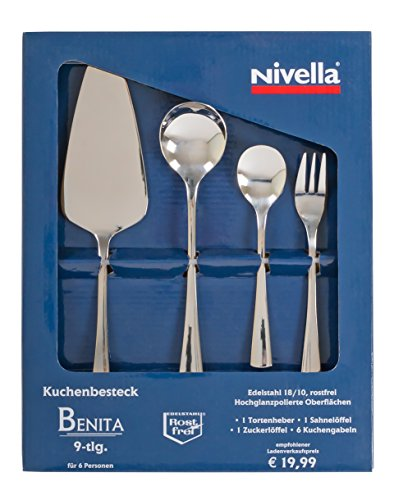 Kuchenbesteck Besteck Nivella 9 Teile