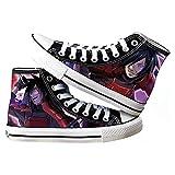 SevenLeo Schuhe Herren Lässige Schuhe Damen Sportschuhe Segeltuchschuhe Teen SchuheSneaker Wanderschuhe Unisex Naruto Anime Shoes 39