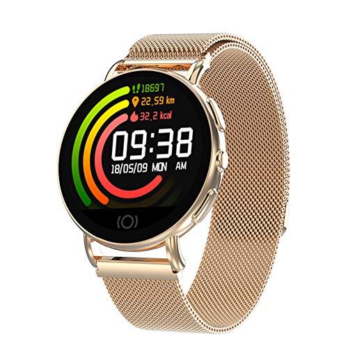 Hunterace Smart Bracelet Watch Fitness Tracker para Hombres, Mujeres, niños, monitoreo de la presión Arterial, Pulsera Deportiva Resistente al Agua (3 Colores)