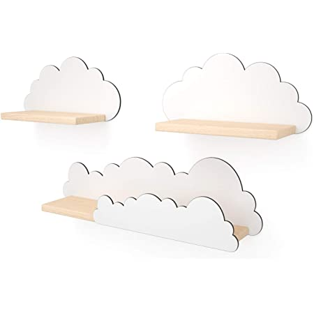Bainba Estantería Nube Blanca: Amazon.es: Hogar