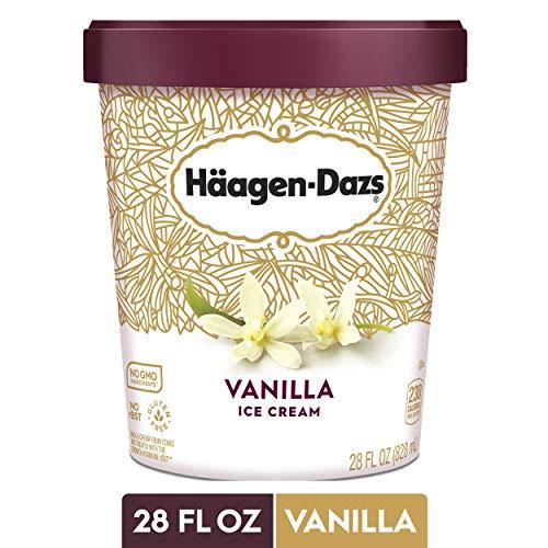 Haagen Dazs Vanilla Ice Cream - 28oz