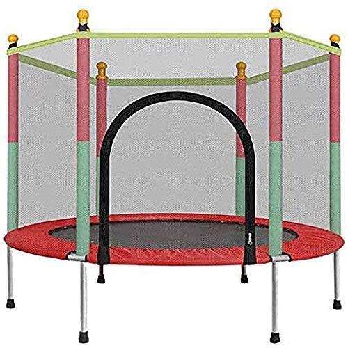 5 FT trampoline voor binnen en buiten met veiligheidsbehuizing Netgreep Mini-trampolines voor kinderen (upgrade)