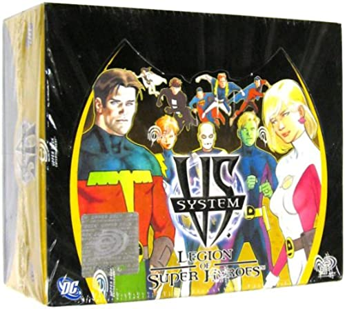 DC VS System Trading Card Game Legion of SuperHeroes Booster Box 24 Packs [Toy]