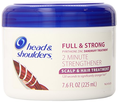 Head and Shoulders Full & Strong 2 Minute Strengthener Scalp & Hair Treatment 7.6 Fl Oz