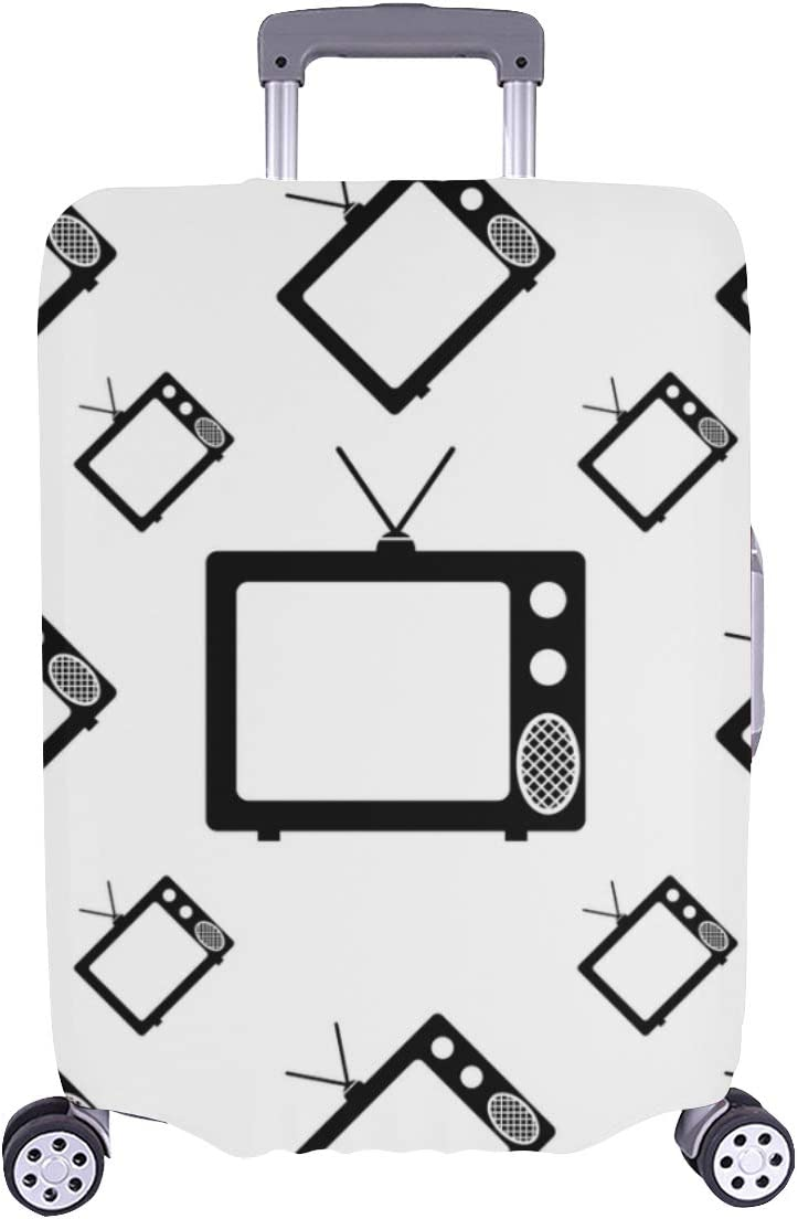 Suitcase Super sale Covers Protectors Vintage Fashion Durabl Old Ranking TOP18 Television