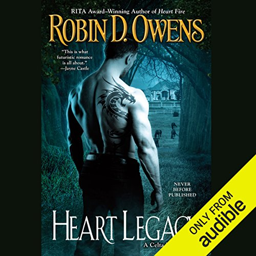 Heart Legacy audiobook cover art