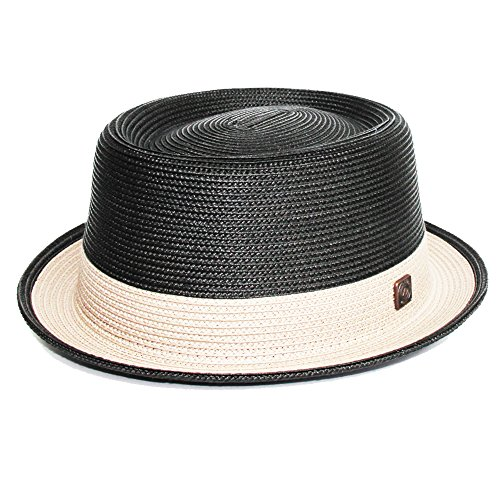 DASMARCA Bobby Carbon Crushable & Packable Porkpie Summer Hat - L