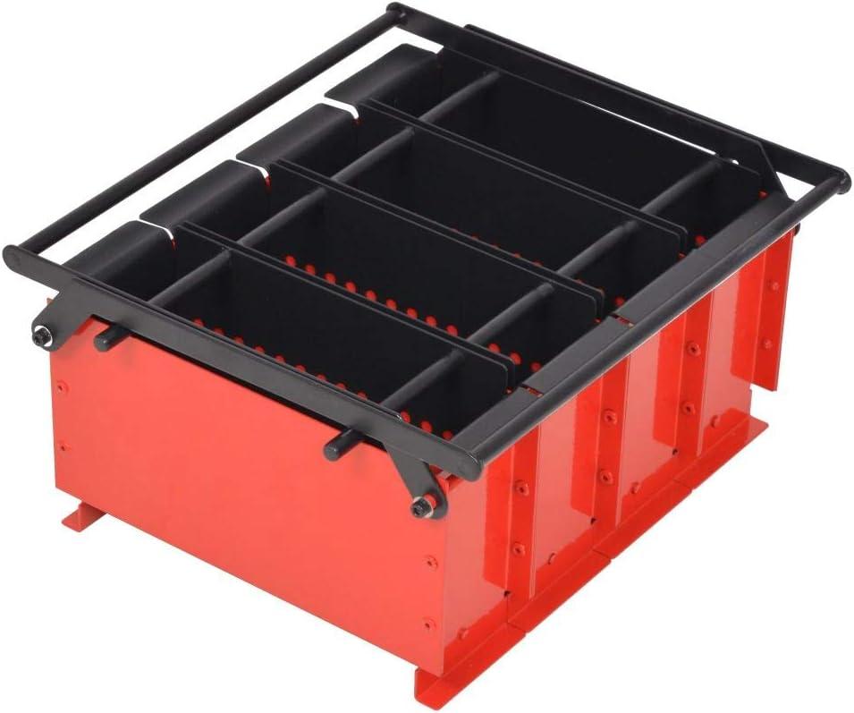 vidaXL Prensa Briquetas de Papel 38x31x18 cm Reciclaje Combustible Comprimido