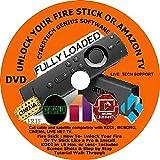 Pro 2020 Ultimate Jailbreaking Amazon Fire Stick/TV 'SMART' Inter-Reactive Programming & Tech Support 2 DVD Set. (DVD 1 Basic Setup) (DVD 2 Advance Jailbroken Setup) Jailbroke LIVE PHONE TECH SUPPORT