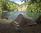 MASTERCANOPY Camping Tent, Waterproof Sun Shelters, Backpacking Tents, Quick Set up for Camping Hiking Outdoor Activities (Coffee)