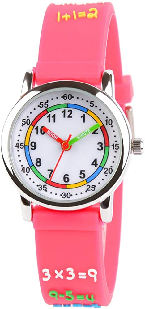 Venhoo Kids Watches 3D Cute Silicone latest Cartoon Waterproof Children Outlet ☆ Free Shipping