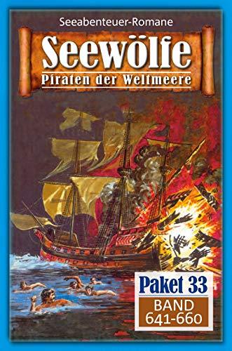 Seewölfe Paket 33: Seewölfe - Piraten der Weltmeere, Band 641 bis 66