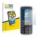 BROTECT 2X Entspiegelungs-Schutzfolie kompatibel mit Doro Primo 305 Bildschirmschutz-Folie Matt, Anti-Reflex, Anti-Fingerprint