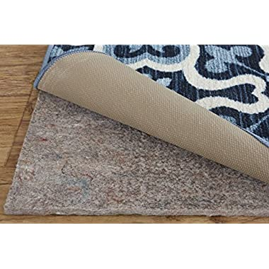 Mohawk Home Dual Surface Felt Non Slip Rug Pad, 2'x20', 1/4 Inch Thick, Safe for All Floors