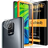 [5 Pack] UniqueMe para Xiaomi Redmi Note 9s /...