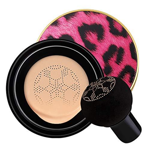 Cyeer Make-up Foundation+Schwamm,Luft Kissen Sahne wasserdichte Feuchtigkeitscreme Concealer Stiftung (A)