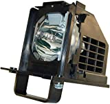 WOWSAI 915B441001 TV Replacement Lamp in Housing for Mitsubishi WD-73638, WD-73738, WD-73838, WD-73C10, WD-82738, WD-82838 Televisions