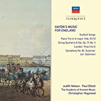 Haydns Music for England by ELIOTT / ACADEMY OF ANCIENT MUSIC / HOGWOOD (2011-01-25)