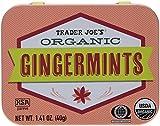 Trader Joe's Organic Gingermints 40g., 50 Mints (Pack of 2)