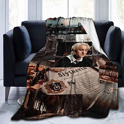 Tengyuntong Skin-Friendly Flannel Blanket Draco-Malfoy Soft Cozy Micro Fleece Couch s 40 X 50 Inch