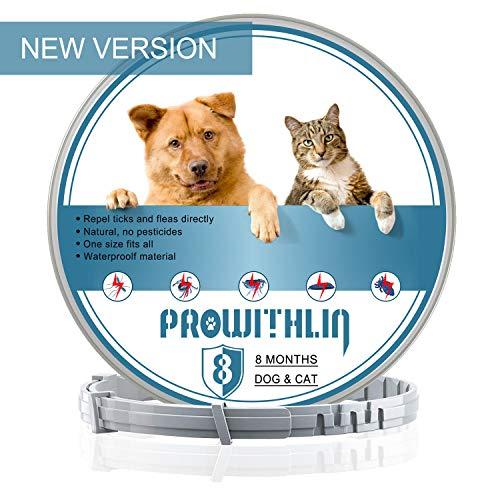 Collar Antiparasitos para Perros y Gatos, contra Pulgas
