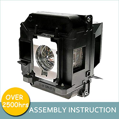 LOUTOC Projector Lamp Bulb V13H010L60 V13H010L61 for Epson ELPLP60 ELPLP61 PowerLite 420 425W 92 93 95 96W 905 1835 430 435W 915W D6150