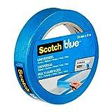 ScotchBlue Ruban de Masquage de Peinture Multi-Surfaces, 24 mm x 41 m, Scotch Ruban Adhésif Polyvalent pour Travaux de Peinture et Décoration, Intérieur et Extérieur, Résistant aux UV