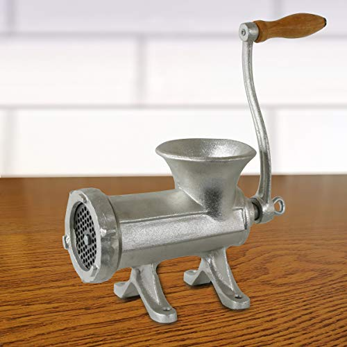 Sportsman MHG22 #22 Cast Iron Countertop Bolt Down Manual Meat Grinder