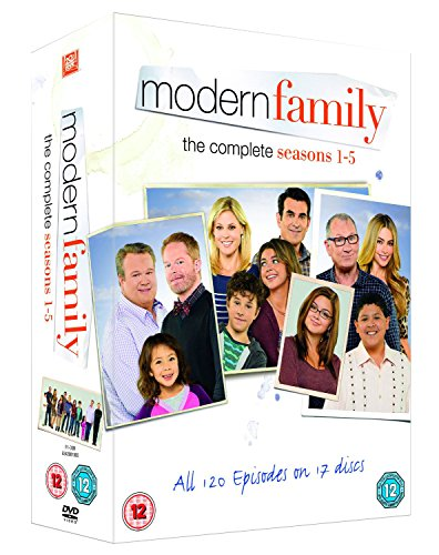 Modern Family: The Complete Seasons 1-5 [17 DVDs] [UK Import]