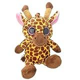 Wild Planet Orbys-Juguete de Peluche Girafa 25cm Hecho a Mano, Multicolor (K8213)