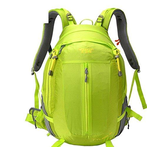 Sincere® Package / Sacs à dos / Portable / Ultraléger Mode sport sac à dos / sac d'alpinisme / extérieur Voyage sac à dos / sac suspension respirant / hydrofuge vert 50L