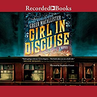 Girl in Disguise audiobook cover art