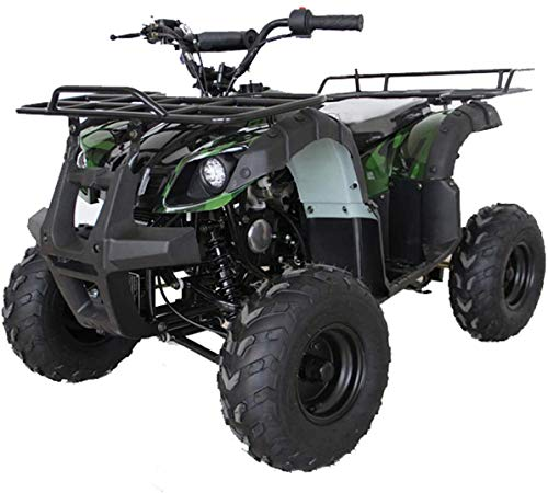 X-PRO Kids ATV 4 wheelers for Sale 125cc ATV Quad Four Wheelers Youth ATV 4 wheelers with Remote Control (Green Camo)